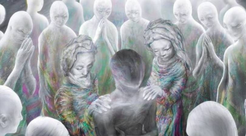 spirits conversations mirrored in the physical world