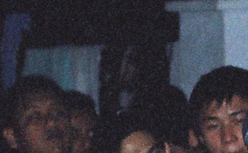 zoomed photo 1 of mysterious camp participants in bukit hijau