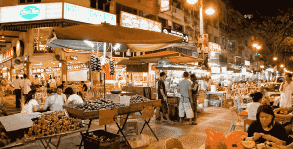 Food Streets of Malaysia