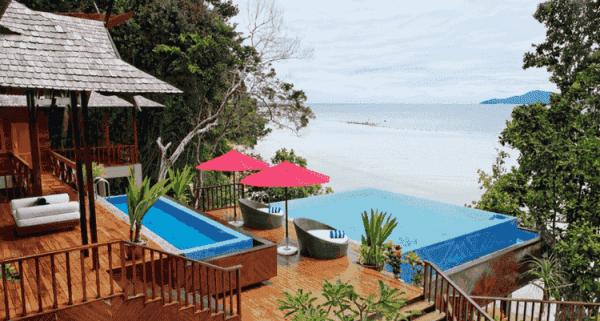 Bunga Raya Island Resort & Spa in Malaysia