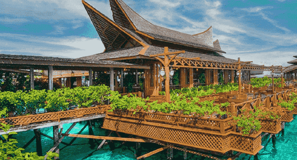 Mabul Waters Bungalows, Borneo