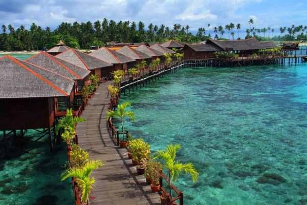Sipadan island in malaysia