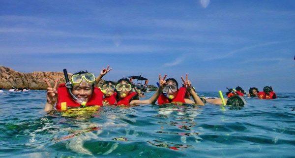 Snorkelling in Redang Island