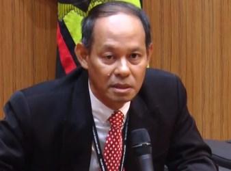 Newly appointed Malaysian Anti Corruption Commission MACC chief commissioner Datuk Seri Mohd Shukri Abdull