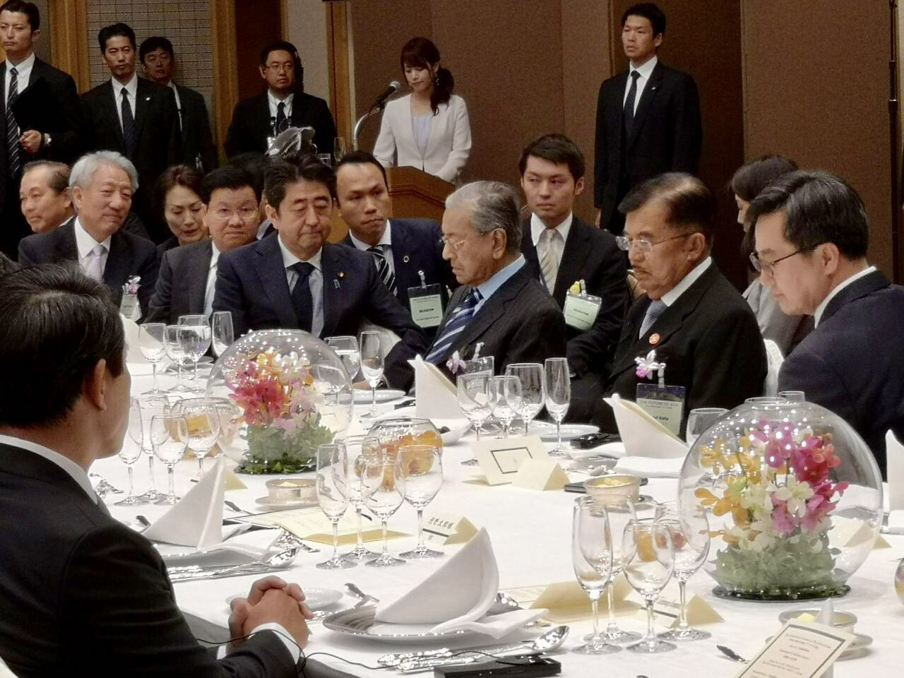 dr Mahathir and japanese prime minister