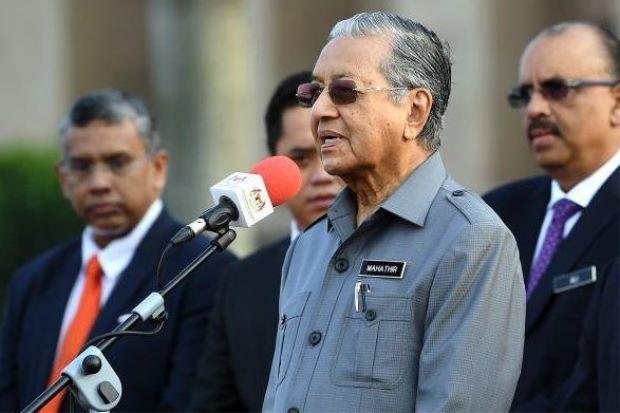 mahathir malaysia najib razak 1mdb scandle