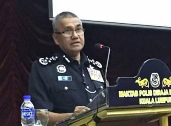 Tan Sri Mohamad Fuzi Harun. Inspector General of Police IGP