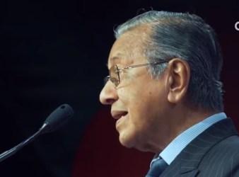 Dr Mahathir speaks at the APEC November 17 2018