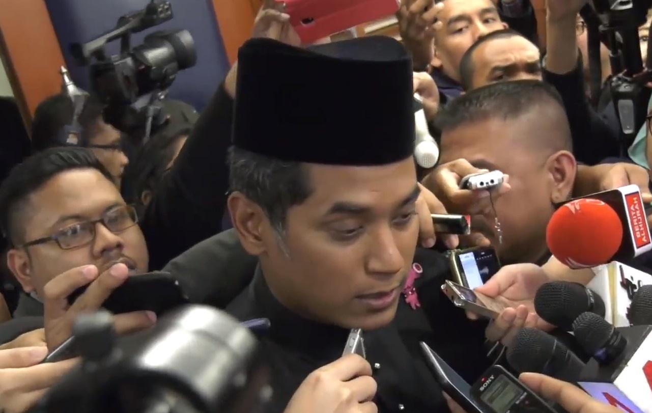 Former Umno Youth chief Khairy Jamaluddin