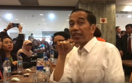 The Indonesian president Joko Widodo