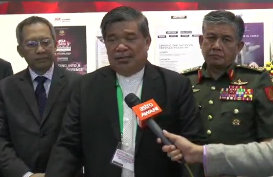 muhamad sabri malaysia defence minister