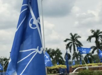 barisan national flag