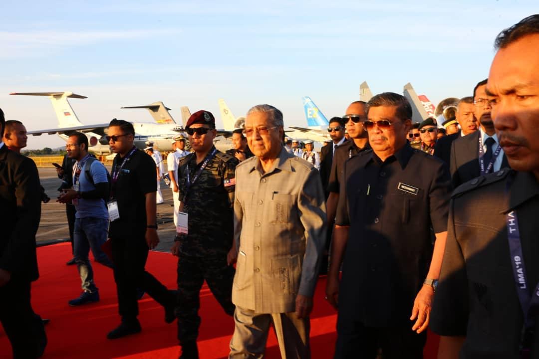 Dr Mahathir at Lima langkawi 2019
