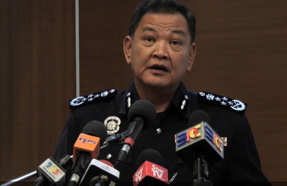 Inspector General of Police Abdul Hamid Bador