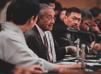 dr mahathir us chana trade war
