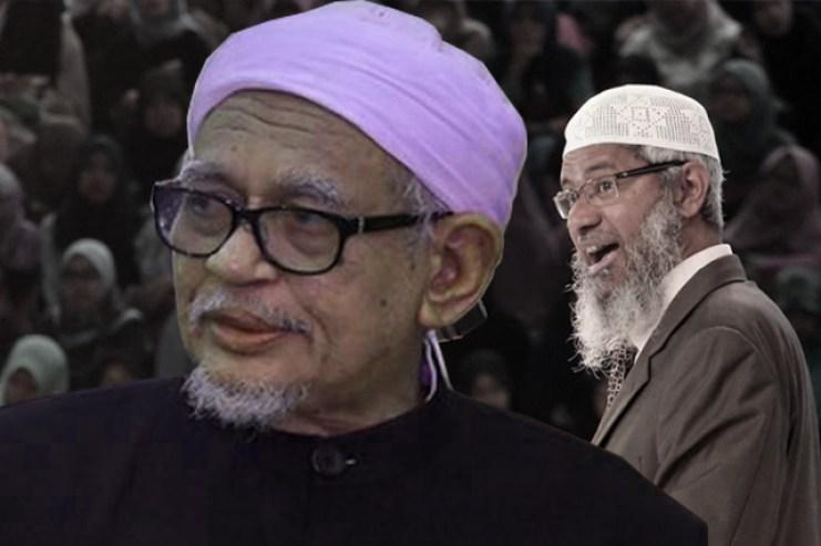 hadi pas leader malaysia dr zakir naik