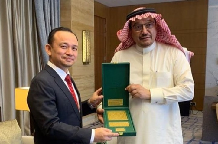 Dr Maszlee with saudi arabia education minister