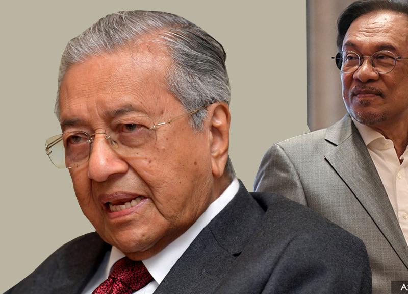 dr mahathir and anwar ibrahim malaysia