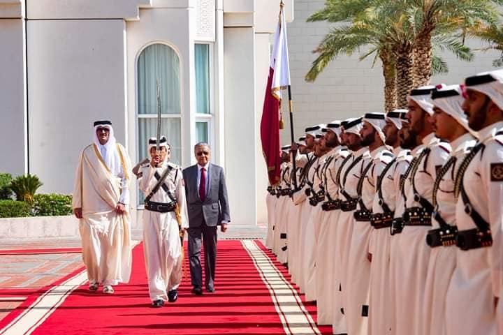 dr mahathir in Qatar
