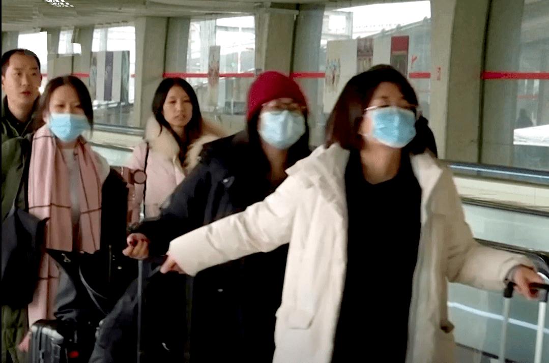 CORONAVIRUS tourists from china1