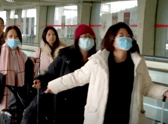 CORONAVIRUS tourists from china1
