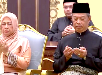 muhyiddin yassin the new prime minister of malaysia sworn