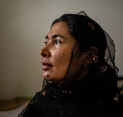 Photo BBC Tursunay Ziawudun spent nine months inside China internment camps