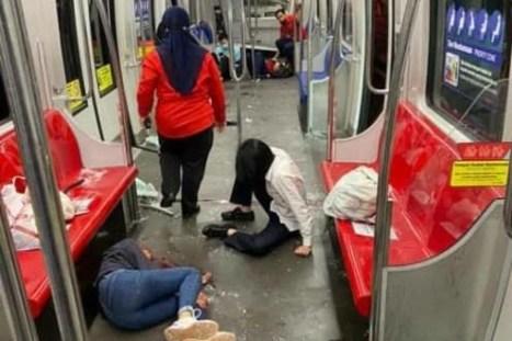 train colition in malaysia