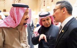hishamuddin with saudi king
