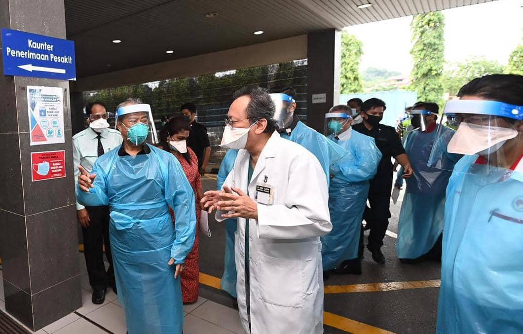 muhyiddin klang hospital