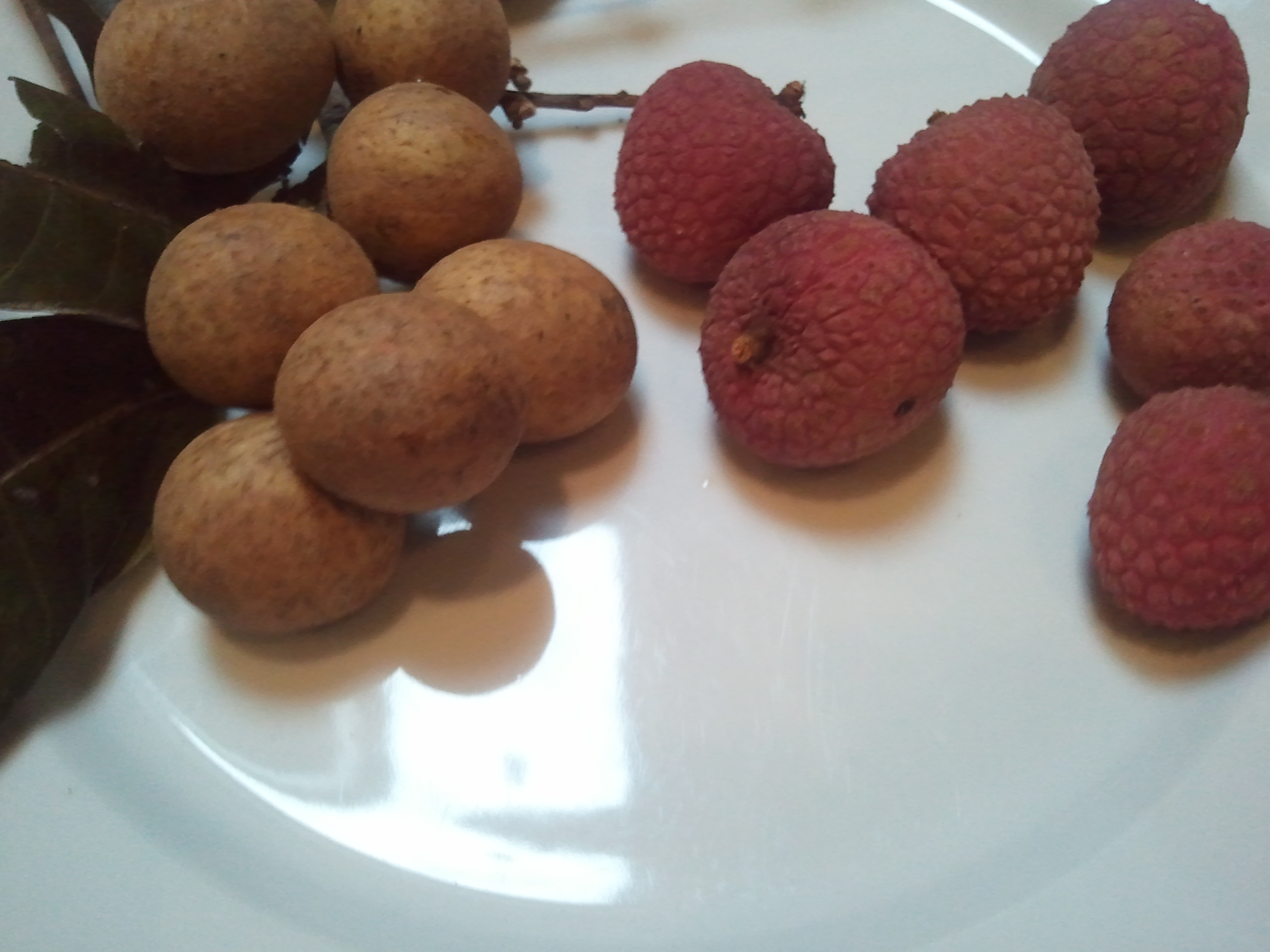 How to eat: Lychee and...