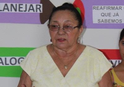 Maria Raimunda Araújo Sousa, ex-prefeita de São Vicente Férrer.