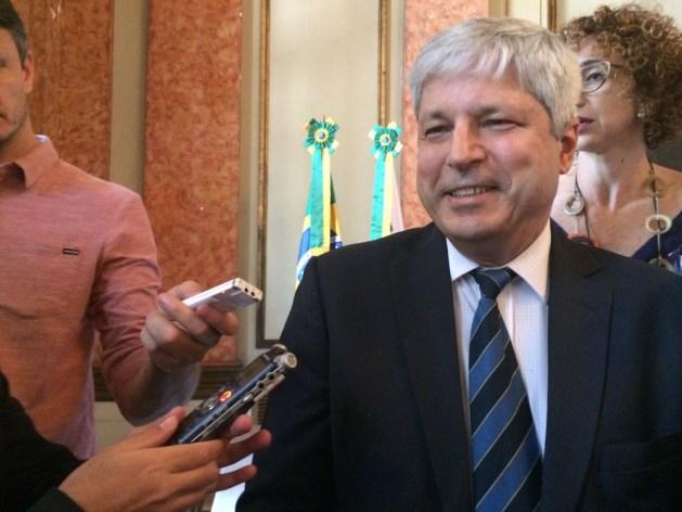 Secretário de Petróleo, Gás e Biocombustíveis do Ministério de Minas e Energia, Márcio Felix.