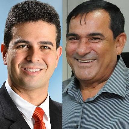 Gil Cutrim (Ex-prefeito de São José de Ribamar) e Josemar Sobreiro (Ex-prefeito de Paço do Lumiar).