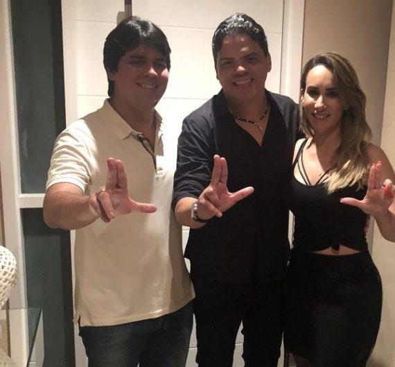 Luciano Genésio declara apoio a André Fufuca e Thaíza Hortegal
