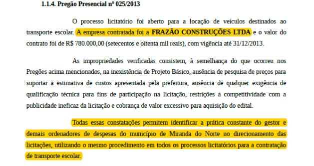 <em>Empresa participa de esquemas milionáriosem prefeituras.</em>