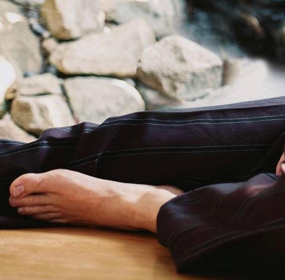 Shawn Mendes barefoot for British GQ
