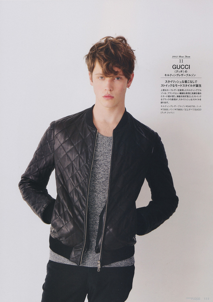 Jake Cooper In Gucci And Burberry Prorsum For Mens Fudge