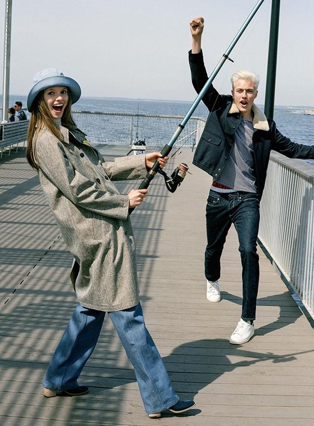 Lucky Blue Smith For Teen Vogue By Sean Thomas