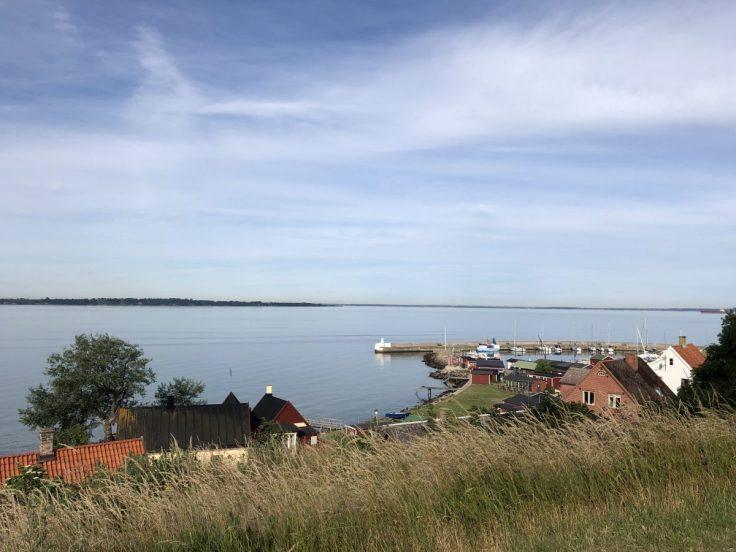 Näkymä Örenäs Slottin puistosta