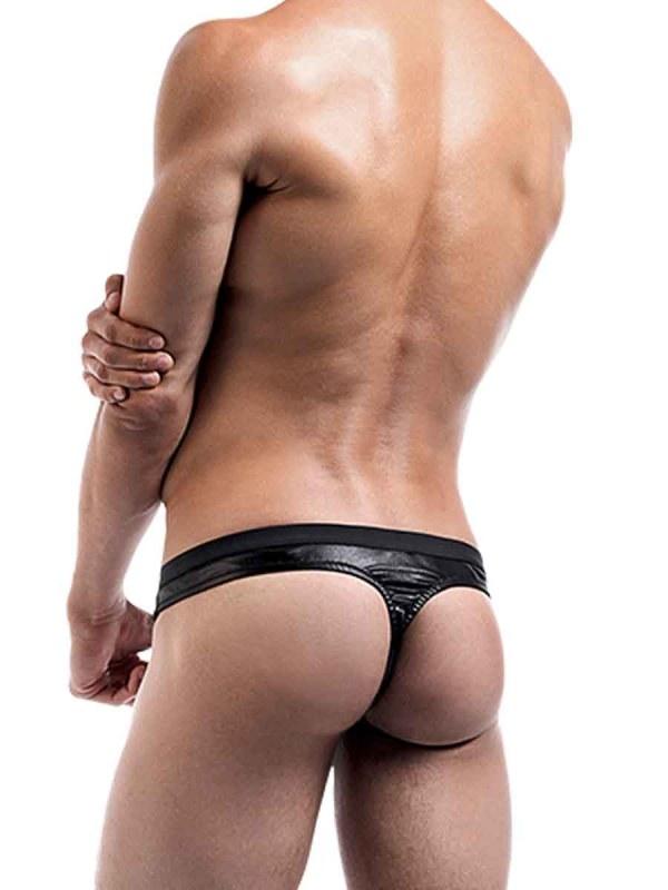 Brass Buckle Thong mens sexy lingerie underwear