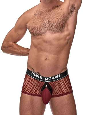 mens erotic sheer red lingerie underwear