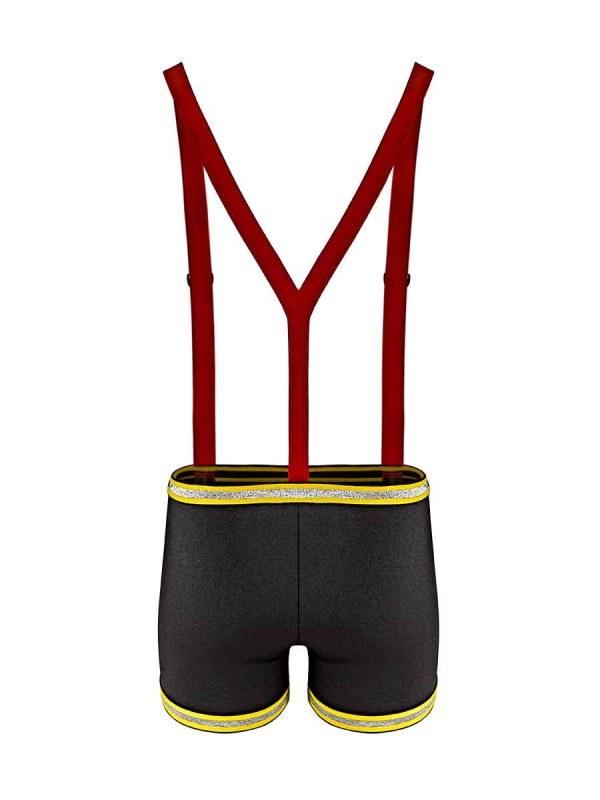 Mens sexy fireman novelty costume