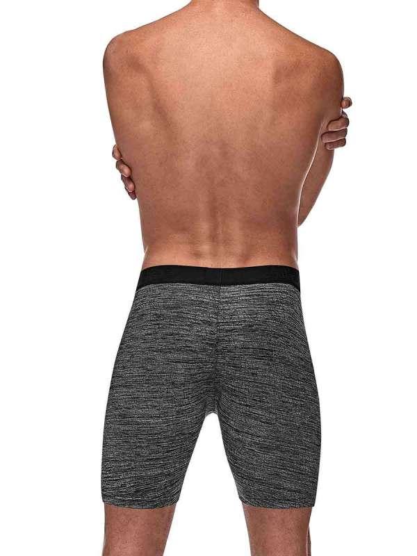 mens workout grey underwear boxer brief