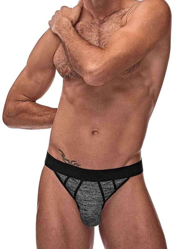 mens sexy underwear grey workout jockstrap