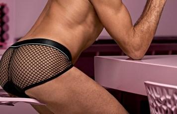Sexy fishnet underwear