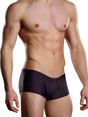Radical Sport Zipper Short Wine