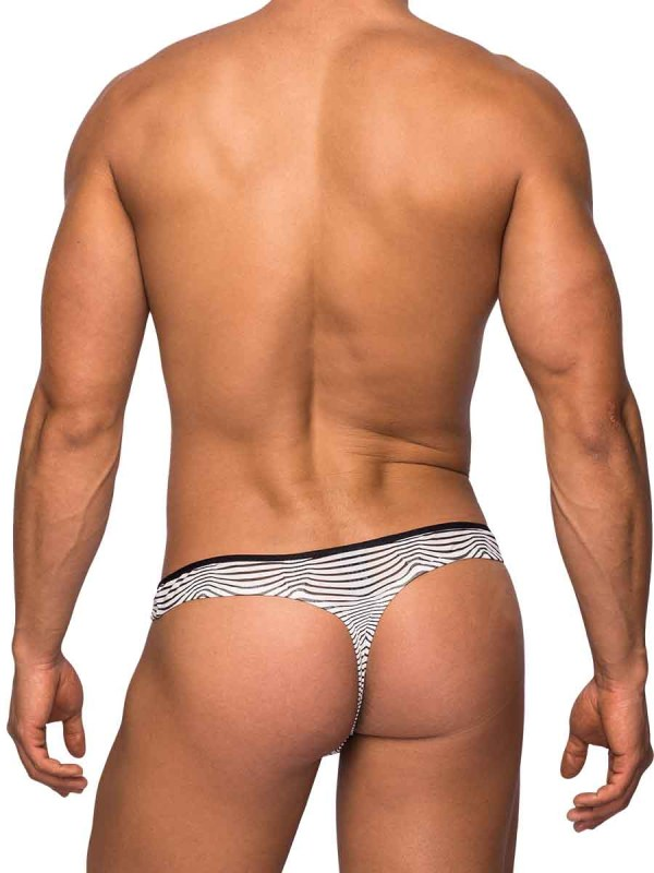 Tranquil Abyss Mini Thong White