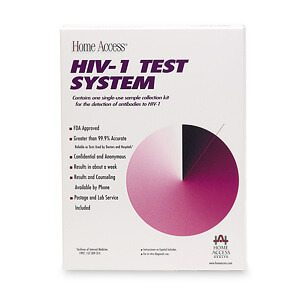 At Home HIV Blood Test