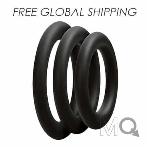 Pro Sensual Silicone Cock Ring Set | 3 Pack